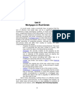Unit 8 - Mortgages in Real Estate