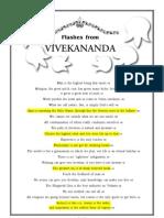 Flashes From Swami Vivekananda