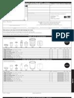 Pricelist Inter Design