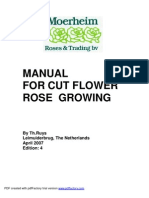 Manual for Growing Roses Ed + 4