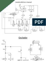 Comando elétrico e manual