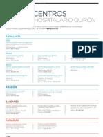 Red de centros de Grupo Hospitalario Quirón | Revista GHQ #15