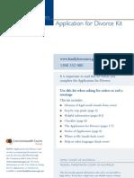 Divorce Kit 011110V1