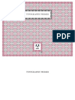 Adobe TYPOGRAPHY PRIMER
