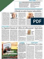 """""""Tra Università e Tribunale un antico legame indissolubile"""" - Il Resto del Carlino del 20 maggio 2013"""