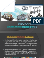 Attain the lucrative Mechanical CAD Services from Mechanical Modeling