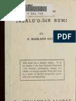The Persian Mystic Jalalud'D-Din Rumi, F. Hadland Davis 1907