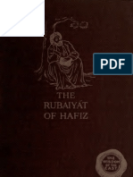 The Rubaiyat of Hafiz, English Trans. 1915