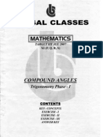 Bansal Classes Mathematics Study Material for IIT JEE