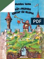 FAT FRUMOS CERTAT CU GLUMA - Dumitru Toma (Ilustratii de Mihaela Si Doru Pacurar, 1983)