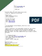Bogan Email Chain