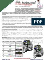 AW55-50 Tech - Important Notice (SPANISH Version)