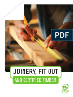 Joinery, Fit Out and Certified Timber