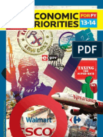 13 Economic Priorities for the FY 2013-2014