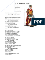 10th Grade Julius Caesar and Research Paper-Scribd