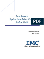 Data Domain System Installation Course