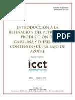 Produccion de Diesel y Gasolina