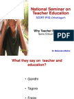 Teacher Education in India