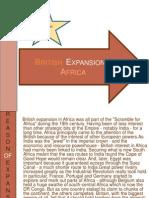 British Expansion in africa