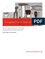BAIN BRIEF Management Tools & Trends 2013