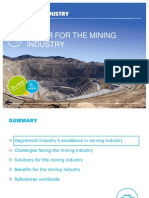 EN - Presentation Water for the Mining Industry - Degrémont Industry