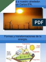 La energía a nuestro alrededor.Juan Carlos 6ºA.