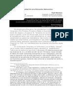 La necesidad de una Educación Subversiva - Vicente Brunetti - Raúl Montero Bray-010313.pdf