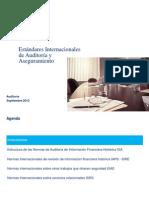 Estandares Internacionales de Aseguramiento y Auditoria