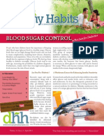 Developing Healthy Habits - April 2013