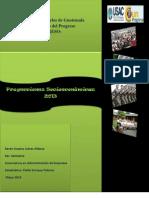 Proyecciones Socioeconómicas