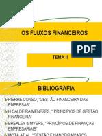 Tema II . Fluxos Financeiros