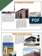 Casco Colonial Ciudades