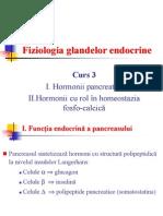 3. Hormonii Pancreatici. Hormonii Cu Rol In Homeostazia Fosfo-Calcică