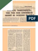 Artigo MT Diario Coimbra 1982