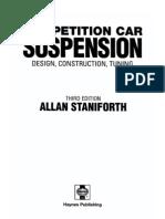 Competition Car Suspension