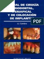 Manual de Cirugía Periodontal, Periapical y de Colocación de Implantes