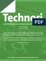 Technori Advertising Rate Sheet