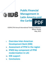 IDB Public Financial Management in Latin America and the Caribbean