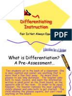 Differentiating Instruction My Report PRPT