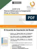 Foro AOED Sub Region Andina Luis Olivera APCI