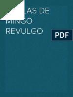 Coplas de Mingo Revulgo
