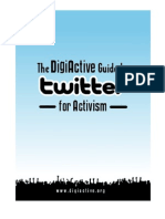 DigiActive Guide to Twitter for Activism