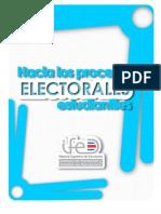 Hacia los procesos electorales estudiantiles.