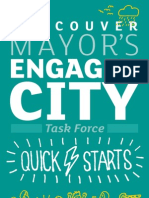 Engaged City Task Force - First Report