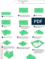 Octahedron origami . How to make -modules