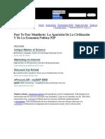 Peer To Peer Manifiesto_ La Aparición De La Civilización Y De La Economía Política P2P - Robin Good - Ultimas Noticias