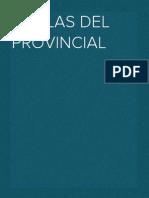 Coplas Del Provincial