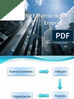 Medio Externo de Las Empresas