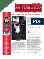 United Poultry Concerns Newsletter