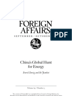 China s Global Hunt for Energy